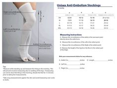 kendall ted stockings size chart - Google zoeken