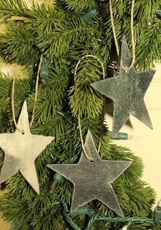 Star Ornament (Set of 3). $9.95, via Etsy.