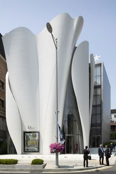 Flagship store in Seoul, Christian Dior by Peter Marino