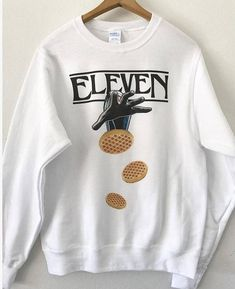 Eleven Stranger Things Sweatshirt This Product is Made To Order, one by one printed so we can control the quality Stranger Things Merchandise, Stranger Things Hoodie, Stranger Things Quote, Stranger Things Aesthetic, Eleven Stranger Things, Stranger Things Season, Stranger Things Netflix, Mode Kawaii, Teen Fashion