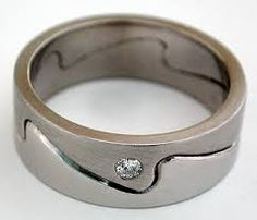 Men S Birch Bark Wedding Ring From Wexford Jewelers This Is Cool Surf And Stars Pinterest Weddings Bells