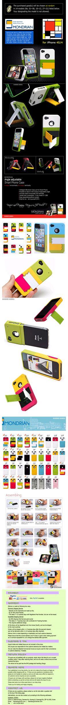 MONDRIAN iPhone 4S