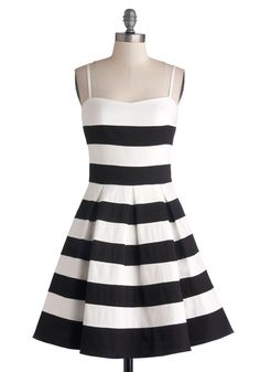 Adorbz --> Rooftop Brunch Dress, #ModCloth #Partydress I love the stripes!