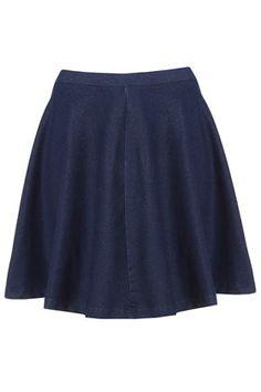 Dark Denim Skater Skirt £20