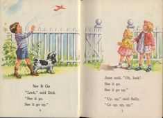 Dick and Jane--learning to read