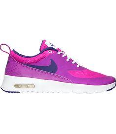 SALE!! Swarovski Nike Girls / Women Hyper Violet/Court Purple Nike Air Max Thea Made with SWAROVSKI® Crystals- New In Box