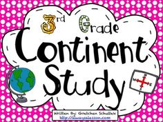 Use this mini Continent Study Bundle to help your students understand some basic information about the 7 continents. Includes information about the people, land, music, clothing, and food in addition to guiding questions per continent.