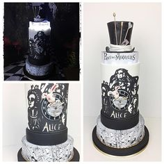 Alice au pays des merveilles cake - Cake by madlcreations