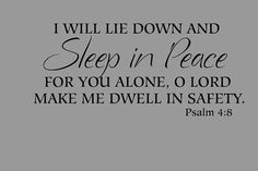 Sleep in peace tonight. God hold's you safely and lovingly in the palm of His gentle loving hand! <3