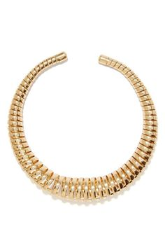 Coil Up Collar Necklace
