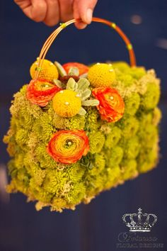 Flower Girl Purse by Botanica Floral Designs I <3 Audrey!