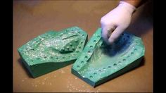 EASY! TWO PIECE MOLD - Silicone & Resin casting