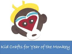 Printable template for making this Monkey King opera mask out of simple shapes. Year of the Monkey: Chinese New Year crafts Site with lots of crafts for kids. Craft Sites, Easy Craft Projects, Art Projects, New Year's Crafts, Easy Crafts, Crafts For Kids, Literacy Activities, Activities For Kids, Activity Ideas