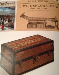 Great Louis Vuitton Camp Bed Trunk