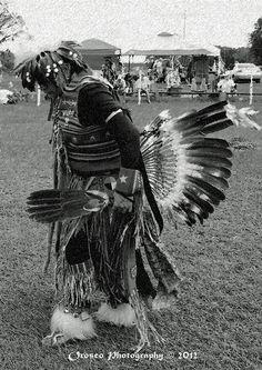 Comanche Joe Charcole Dance Fx Photograph by G Adam Orosco  Odessa Florida, American Indian Pow Wow 2012