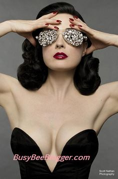 Dita Von Teese Talks About Her Fans With Larry King