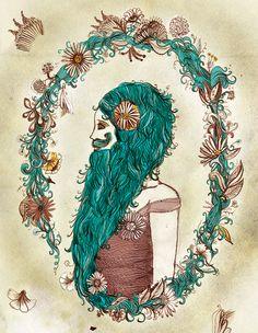 Bearded lady tattoo!!