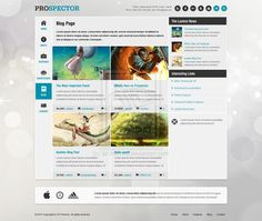 Prospector - Blog Page by ~ait-themes #webdesign #trends