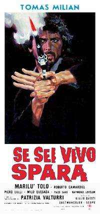 DJANGO KILL, IF YOU LIVE, SHOOT! (1967) Dir. Giulio Questi...Questi's very bizarre and only entry in the genre might not find too many friends but is a well-directed film with many memorable moments, as well as a great deal of elements found in exploitation cinema.