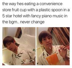 Never change, Kim Taehyung. NEVER. | BTS