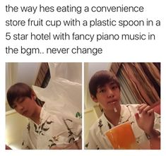 Never change, Kim Taehyung. NEVER. | BTS