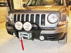 Jeep Patriot Bumper: Winch Mount and Bumpers for Jeep Patriot Jeep Mods, Jeep Suv, Jeep Truck, Jeep Patriot Accessories, Cheap Jeeps, 2014 Jeep Patriot, Yj Wrangler, Old Jeep, 2016 Jeep