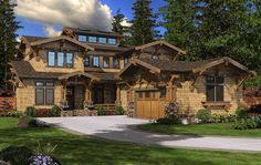 Impressive Craftsman Home Plan - 23468JD   2nd Floor Master Suite, Bonus Room, Butler Walk-in Pantry, CAD Available, Corner Lot, Den-Office-Library-Study, Loft, Luxury, Mountain, Northwest, PDF, Vacation   Architectural Designs