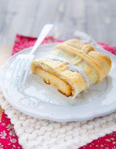 Recette Pavé de tofu feuilleté et crème de truffe : Mélangez les ingrédients de la marinade dans un petit plat. Coupez le tofu en quatre et faites mariner ...