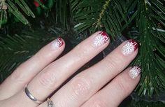 Holiday nail art tspa nails lacey wa