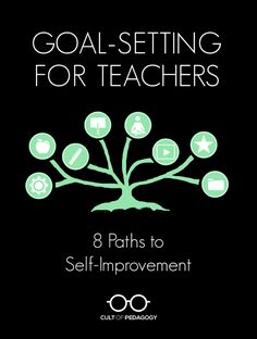 The list of ways a teacher can improve is a mile long. Since you can't do it all at once, here are eight paths you might take toward professional growth. #CultofPedagogy Social Studies Lesson Plans, Math Lesson Plans, First Year Teachers, New Teachers, Teaching Special Education, Music Education, Health Education, Physical Education, Cult Of Pedagogy