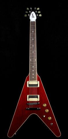 2016 Gibson Flying V Pro T Wine Red