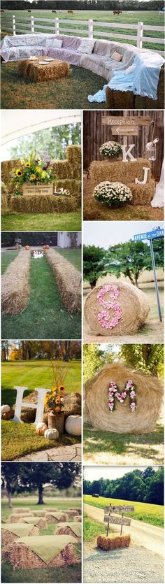 Rustic Weddings »    25 Chic Rustic Hay Bale Decoration Ideas for Country Weddings »  ❤️    See more:     http://www.weddinginclude.com/2017/05/chic-rustic-hay-bale-decoration-ideas-for-country-weddings/