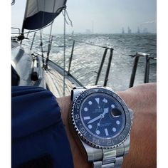 """""""""""A smooth sea never made a skillful sailor"""" — great shot by @gmtfanatic and his Rolex GMT-Master II reference 116710LN.  #ablogtowatch #watchnerd #watchmaking #watchporn #horology #instawatch #womw #rolex #gmt #gmtmasterii #sailing"""" Photo taken by @ablogtowatch on Instagram, pinned via the InstaPin iOS App! http://www.instapinapp.com (09/16/2015)"""