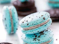 Oreo Cheesecake Macarons