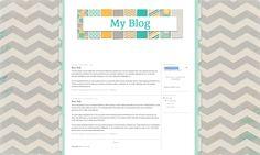 Cammie free blog design