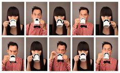Tasses à café et thé designées par Peter Ibbruger sur myfab.com