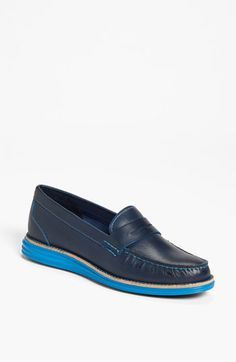 in Masquerade/Ironstone  Cole Haan 'LunarGrand Monroe' Penny Loafer (Women) available at #Nordstrom
