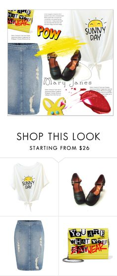 """Not Sweet Mary Janes😈"" by meyli-meyli ❤ liked on Polyvore featuring Calvin Klein, Jimmy Choo and maryjanes"
