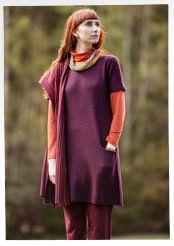 Textured-knit wool tunic