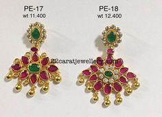 Chandbalis and Jhumkas Avaialble in Silver - Jewellery Designs