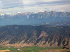 Flathead Valley, Mission Mountain Range, Swan Valley, and Swan Range