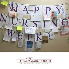 Our residents at The Roxborough Retirement Residence in Newmarket have been leaving notes to give a special thanks to our very own nurses! Funny Nurse Quotes, Nurse Humor, Nursing Memes, Funny Nursing, Nursing Quotes, Senior Living Communities, Wellness Activities, Happy Nurses Week, Retail Robin