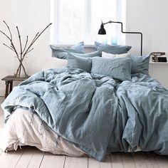 Linen dusty blue! ••• #tellmemore #tellmemoregbg www.tellmemore.nu