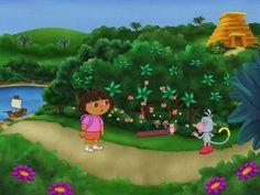 Dora the explorer Lost City 2 dora the explorer video