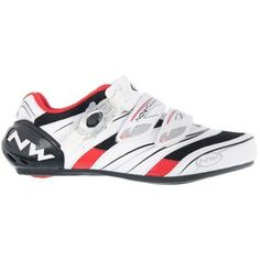 Northwave Verve SBS Women's Road Cycling Shoes White / Black / Red EU 41 * Read more reviews of the product by visiting the link on the image.