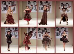 - Salon du chocolat… - Chocolate Dresses!