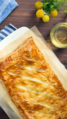 There is no resisting the rich, full-bodied flavors of mushrooms and brie hiding inside this flaky, buttery tart.