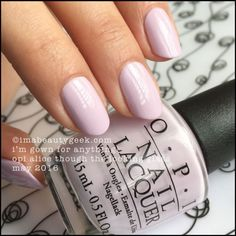 OPI I'm Gown for Anything! – OPI Alice Through the Looking Glass 2016