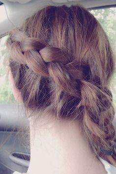 Side braid #hair #hairstyle #braid #braided hair #thebeautypoison #bohohair #bohemian