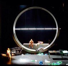 Barbelo, à propos des chiens et d'enfants, set design Anna Popek, dir. A. Bisang, La Comédie de Genève, 2009
